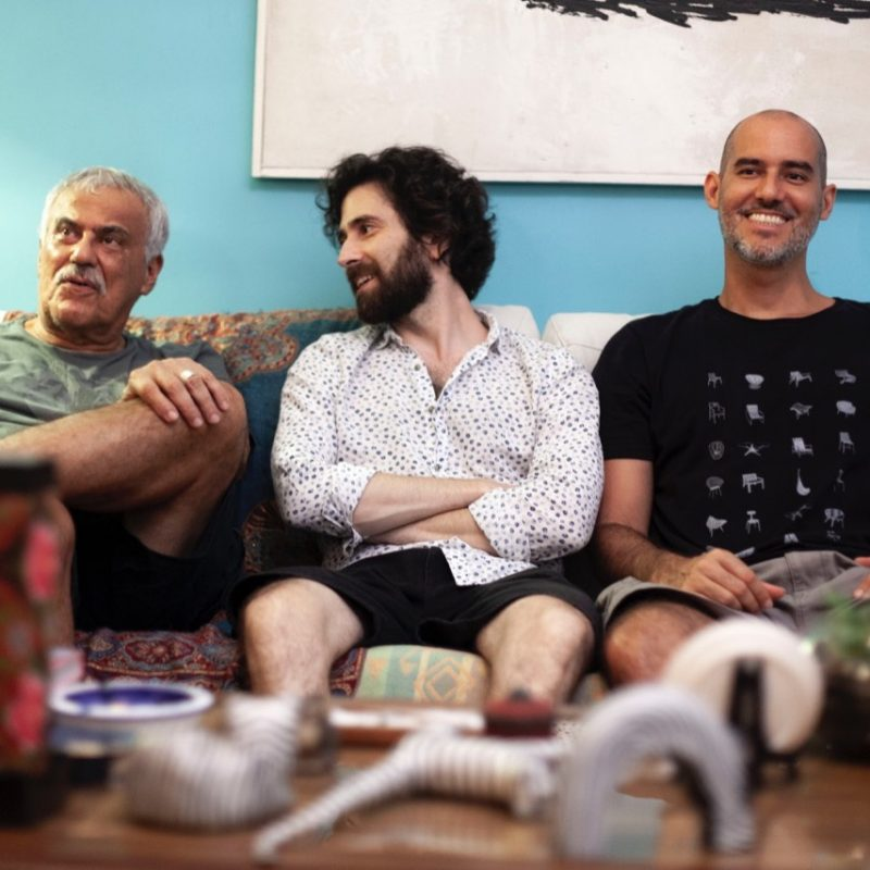 Danilo Caymmi, Oran Etkin, and Davi Mello
