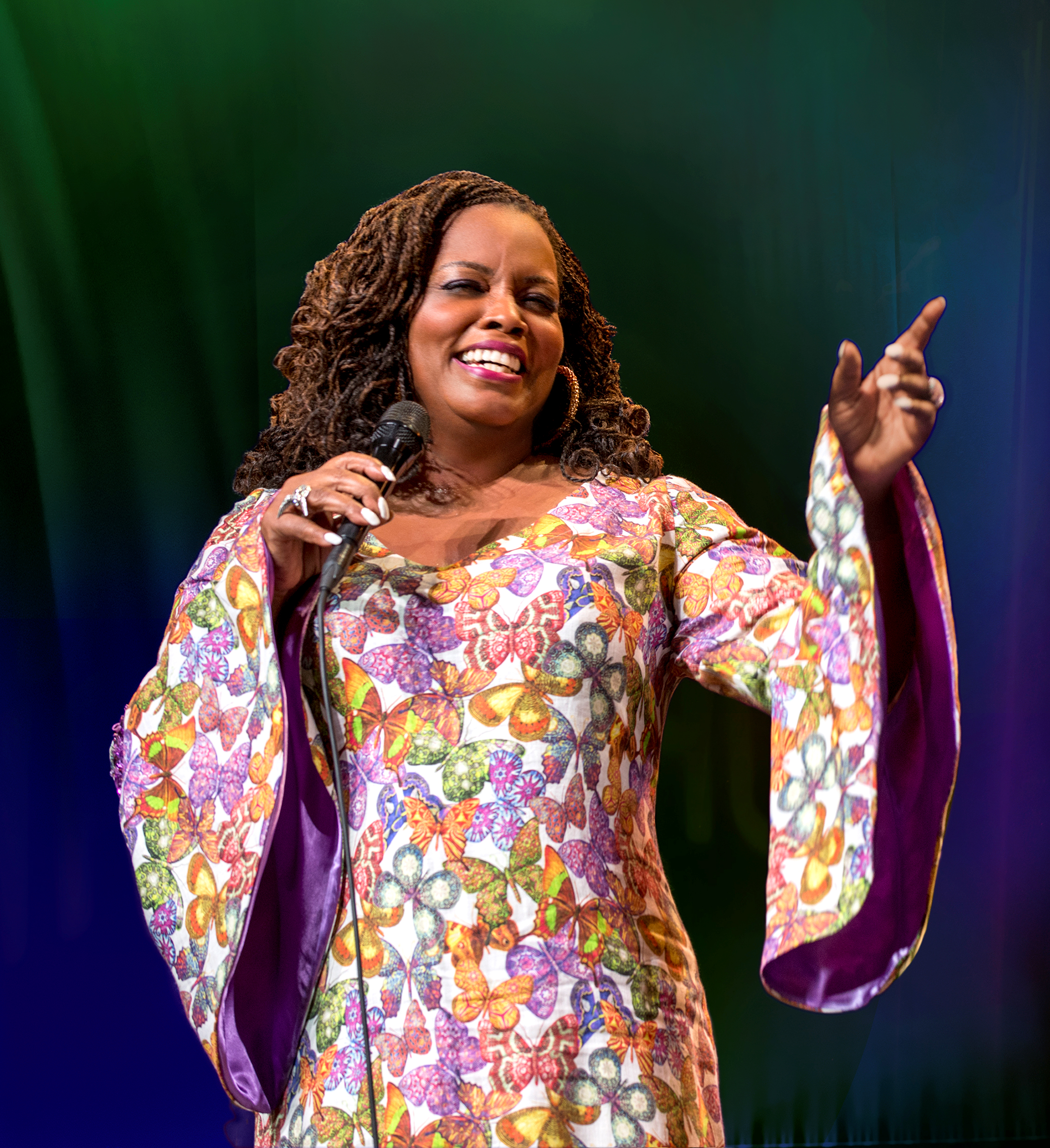 Jazz Coalition supporter Dianne Reeves