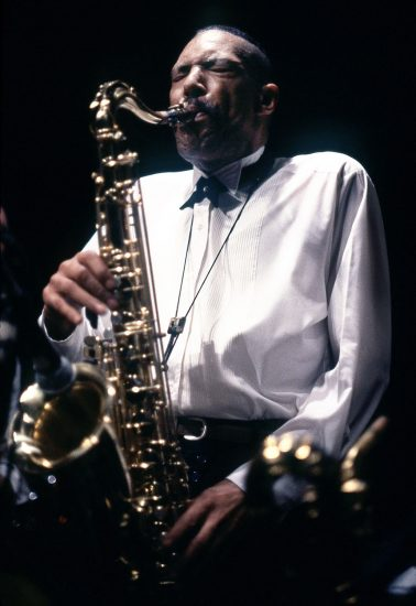 Frank Lowe at the Knitting Factory, May 1990