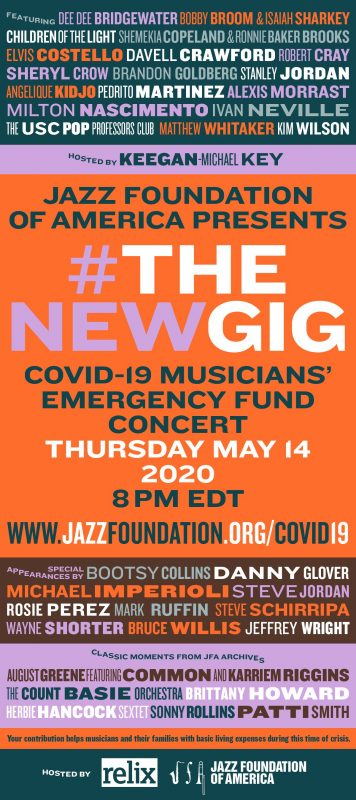 The Jazz Foundation of America's #THENEWGIG