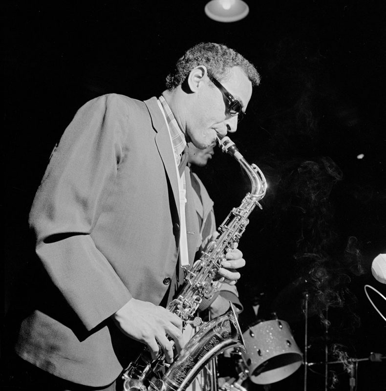 Jimmy Lyons in 1966