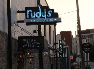 The Scene: Rudy's Jazz Room in Nashville