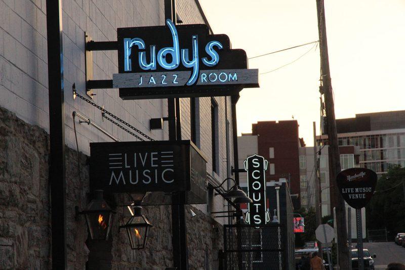 The Scene: Rudy's Jazz Room in Nashville