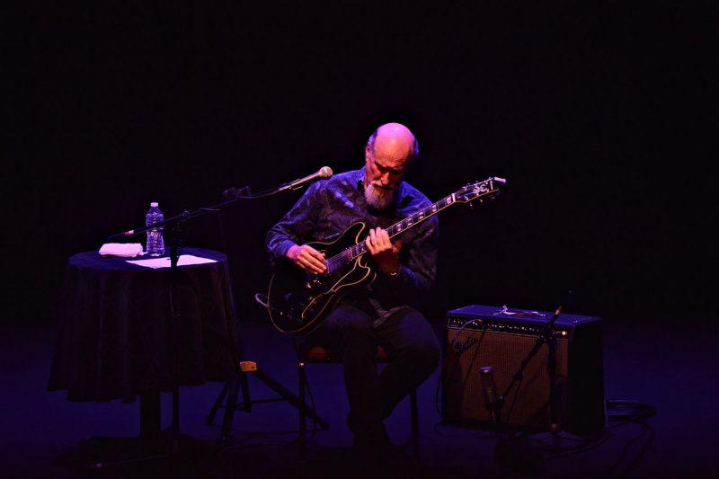 Scofield at the Emelin Theatre, Mamaroneck, N.Y., March 2020