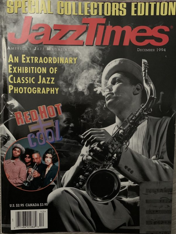 The cover of the December 1994 issue of JazzTimes