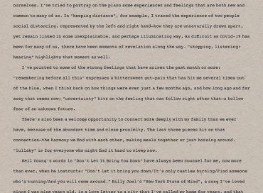 Brad Mehldau: Suite: April 2020 (Nonesuch)