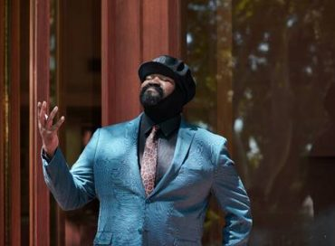 Gregory Porter Sings for Mars Rover Launch