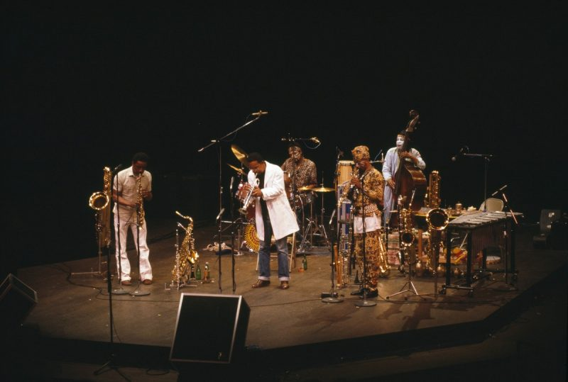 The Art Ensemble of Chicago at the Walker Art Center in 1980