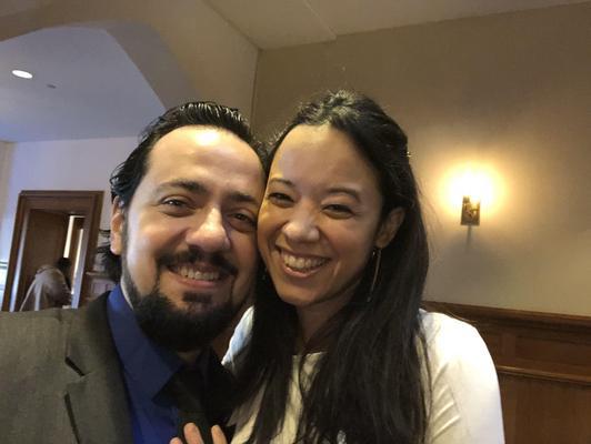 Flavio Lira and Isabella Mendes