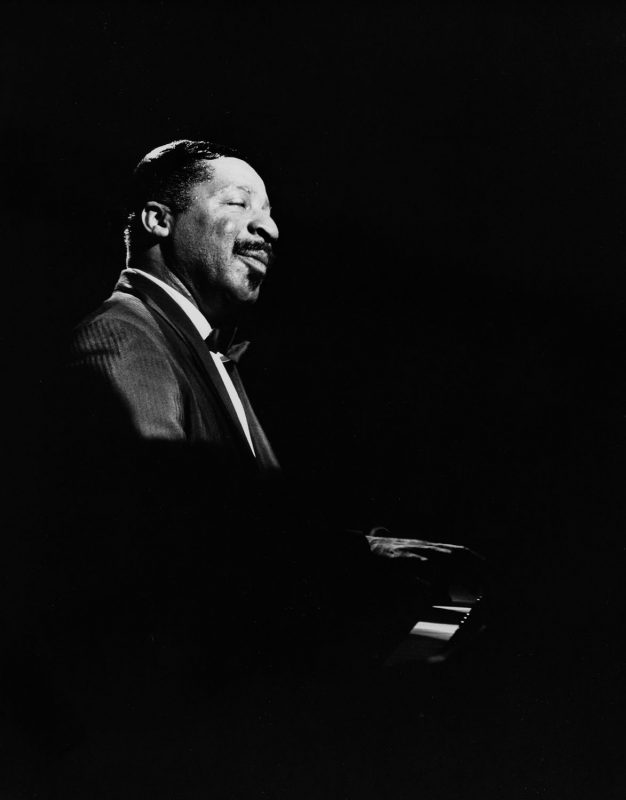 Erroll Garner in concert. (Photo courtesy of the Erroll Garner Jazz Project)