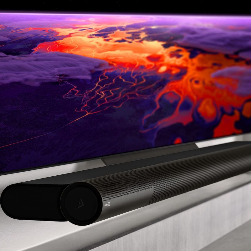 Vizio's Elevate comes to life when it plays Dolby Atmos or DTS:X audio.
