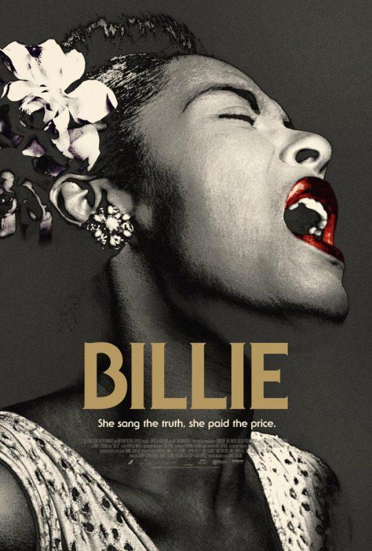 Poster for the Billie documentary film