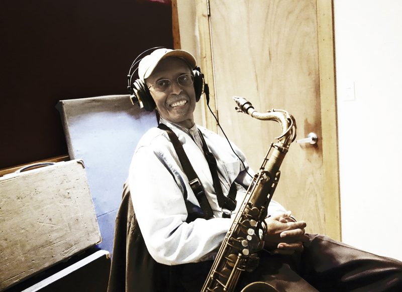 Jimmy Heath recording his final album, Love Letter