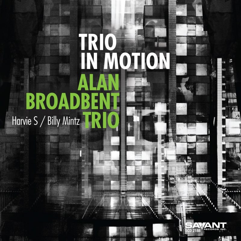 Cover of the Alan Broadbent Trio album Trio in Motion