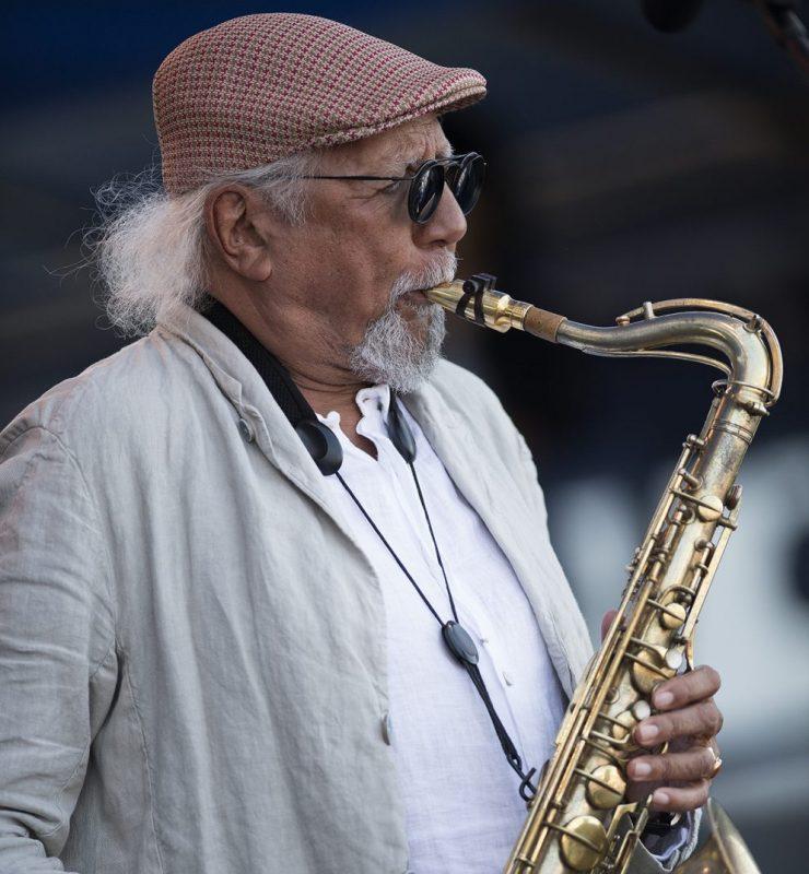 Charles Lloyd at the 2018 Newport Jazz Festival