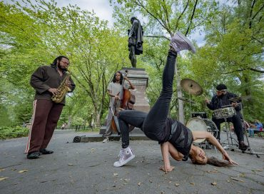 Walk with the Wind Brings Jazz to New York's Central Park—for Free