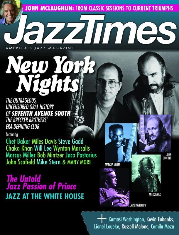 July/August 2016 issue of JazzTimes