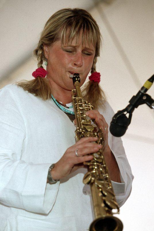 Jane Bunnett, August 2002