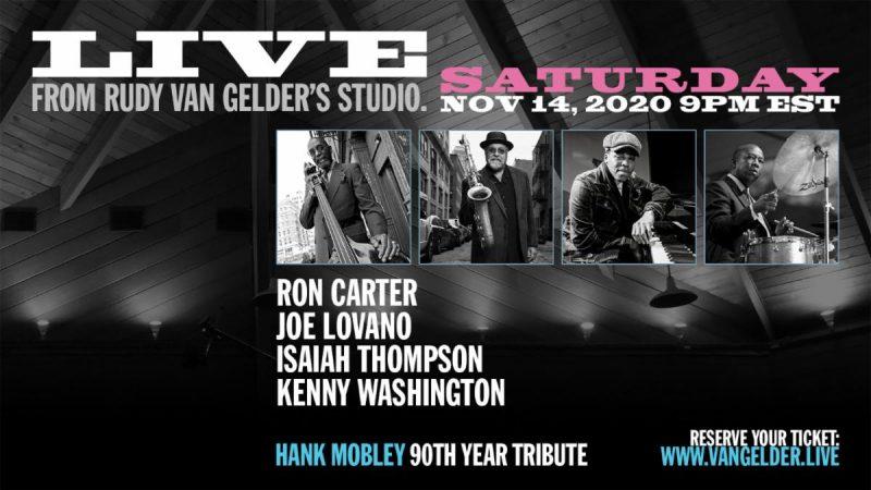 Flyer for first episode of Live from Rudy Van Gelder's Studio