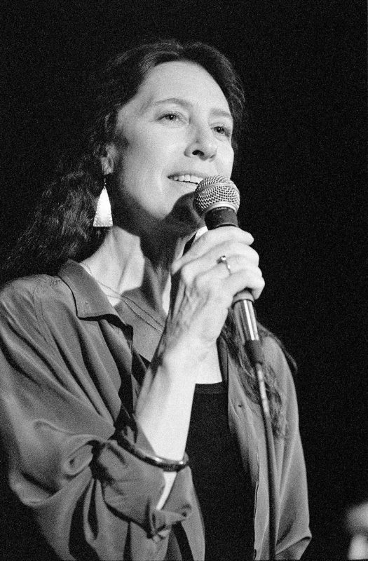 Meredith D'Ambrosio at Scullers in Boston, September 1996 (photo: Alan Nahigian)