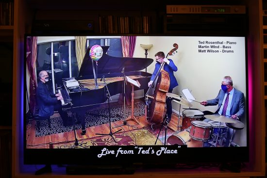 Live from Ted's Place featuring Ted Rosenthal (piano), Martin Wind (bass) and Matt Wilson (drums)
