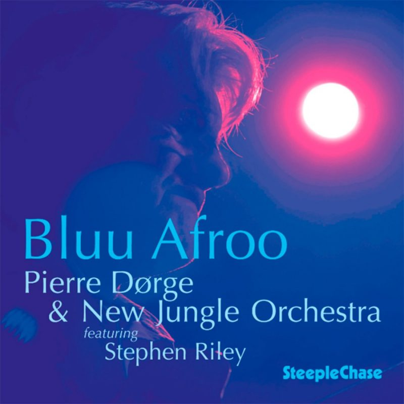 Cover of Pierre Dørge & New Jungle Orchestra album Blu Afroo