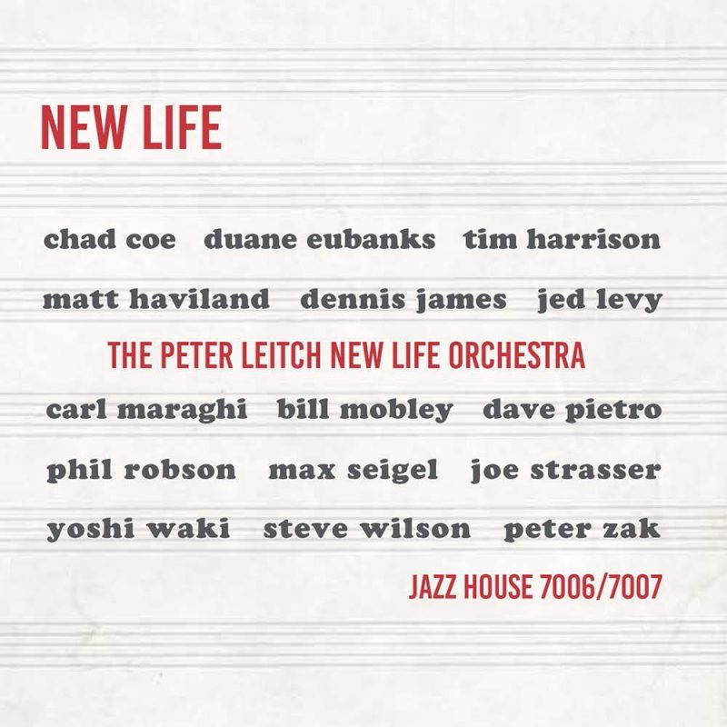 Cover of Peter Leitch New Life Orchestra album New Life