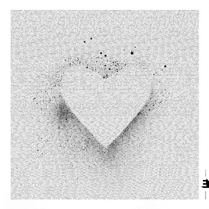 Cover of Ben Wendel album High Heart