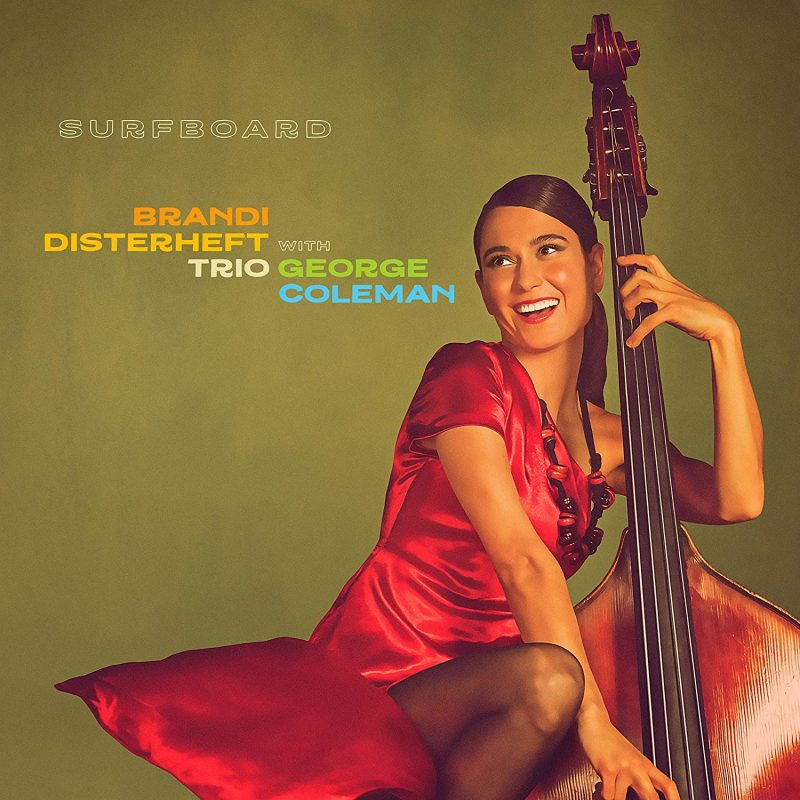 Cover of Brandi Disterheft Trio album Surfboard