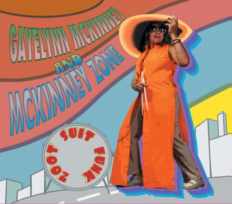 Cover of Gayelynn McKinney album Zoot Suit Funk