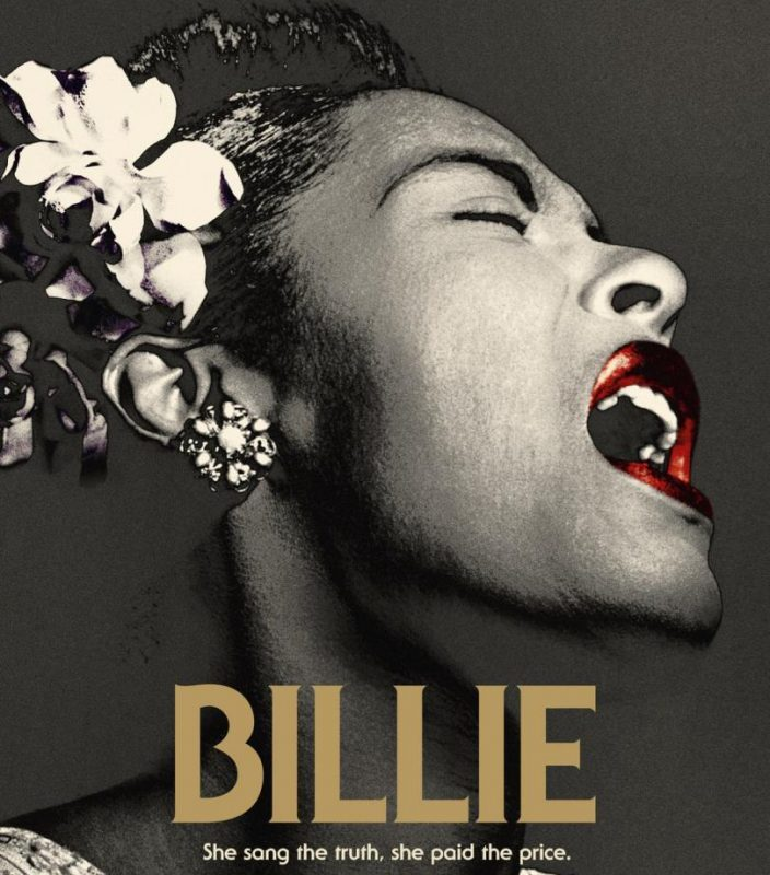 The poster for the Billie documentary film