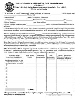 The AFM's LS-1 contract