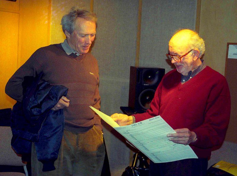 Lennie Niehaus and Clint Eastwood