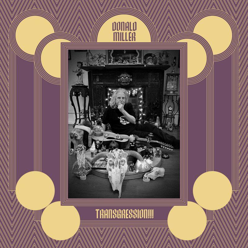 Cover of Donald Miller album Transgression!!!