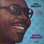 Cover of Manu Dibango album Soul Makossa