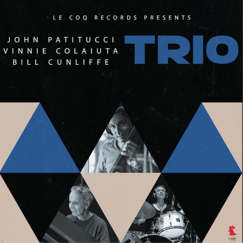 Cover of John Patitucci/Vinnie Colaiuta/Bill Cunliffe album Trio