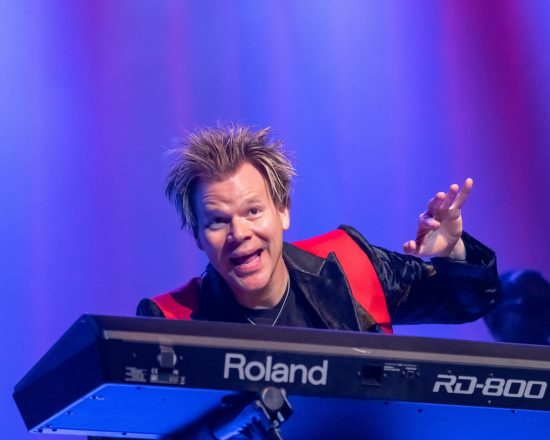 Brian Culbertson performing at the Berks Jazz Fest in Reading, Pa. (photo by Peter Boehi)