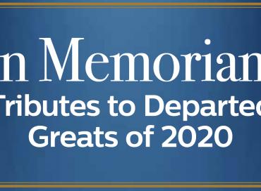 In Memoriam: Tributes to 2020's Departed Jazz Greats