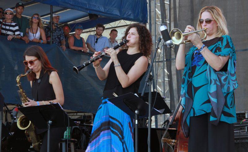 Artemis at the 2018 Newport Jazz Festival