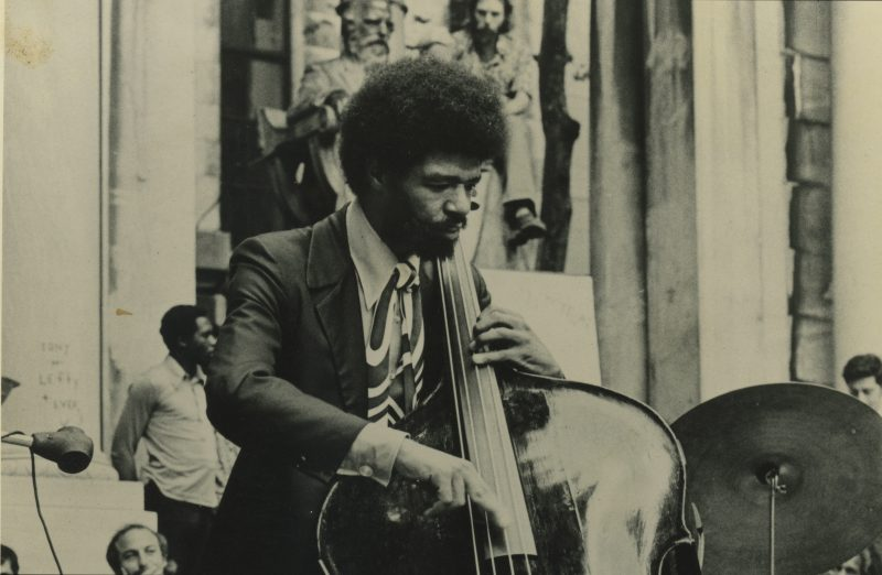 Buster Williams, Bryant Park, New York, 1973