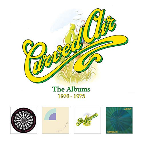 Cover of The Albums 1970-1973 by Curved Air