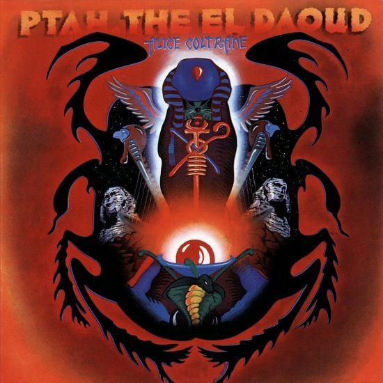 Cover of Alice Coltrane album Ptah, the El Daoud
