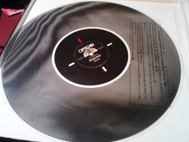 Optigan program disc
