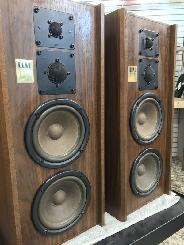 Good vintage gear: ELAC speakers