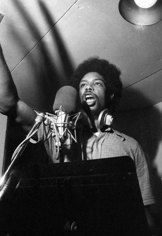 Gil Scott-Heron in 1972