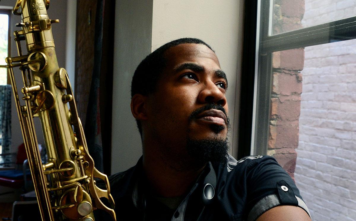 James Brandon Lewis (photo: Diane Allford)