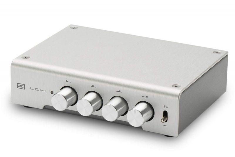 Schiit Audio's Loki Mini+ features tone controls.