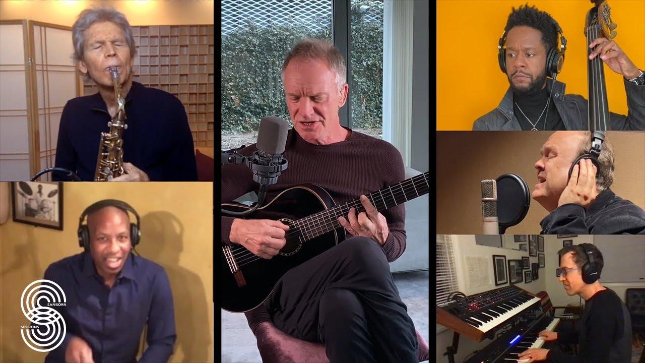 JT Video Premiere: Sanborn Sessions Featuring Sting