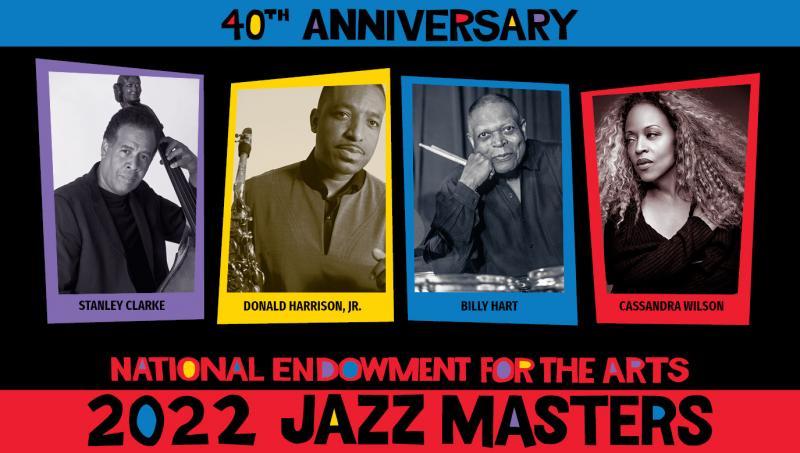 The 2022 class of NEA Jazz Masters