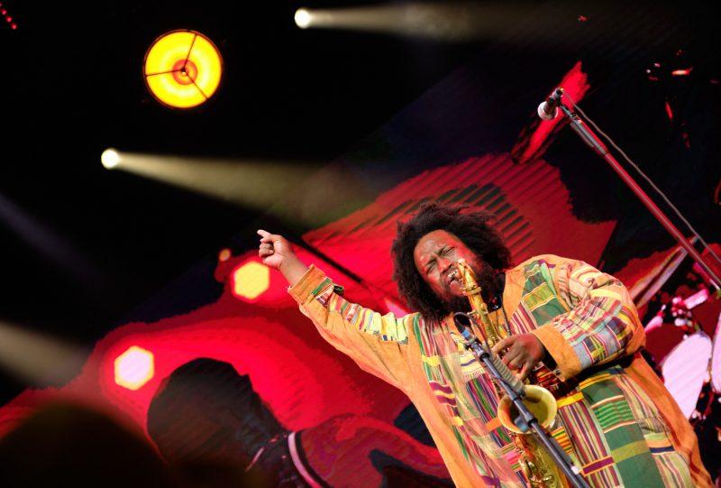 Kamasi Washington at the 2021 Leopolis Jazz Fest
